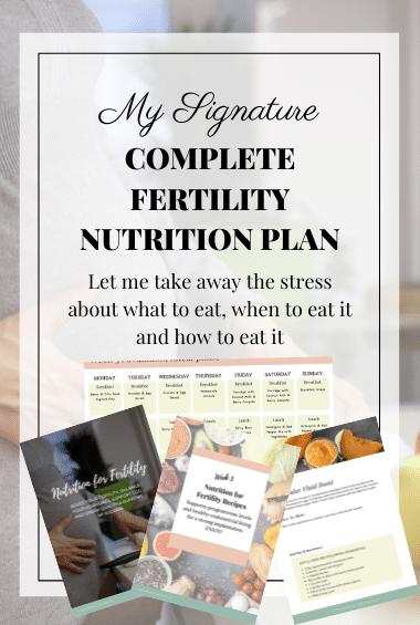 fertility nutrition plan